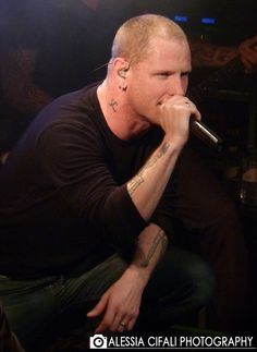 Corey Taylor- of Slipknot and Stone Sour