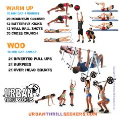 Workout of the day 20 mountain climber, 12 butterfly kicks, 12 wall ball shots…