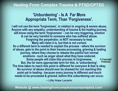'Unburdening' – is a far more appropriate term, than forgiveness ~ Lilly Hope Lucario – Healing From Complex Trauma & PTSD/CPTSD Mental And Emotional Health, Emotional Abuse, Ptsd Quotes, Lesson Quotes, Wisdom Quotes, Quotes Quotes, Life Quotes, Baby Lernen, Ptsd Recovery