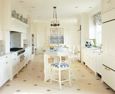 The Blue and White Kitchen
