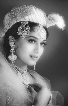 Madhuri Dixit Black.#madhuridixit http://www.manchimovies.com