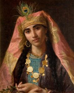 Sophie  Gengembre Anderson - Scheherazade (The New Art Gallery Walsall Gallery Square, Walsall, Staffordshire, UK)