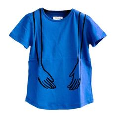 Sebastiao T Shirt with Hands Embroidery by Wolf And Rita X JC de Castelbajac - Junior Edition  - 1