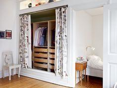 begehbarer kleiderschrank wohnideen einrichten room. Black Bedroom Furniture Sets. Home Design Ideas