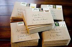 Kraft paper envelopes!