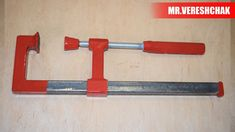 DIY How To Make F-Clamps / C-Clamps Welcome to Mr.Vereshchak channel Our channel include of guiding videos: ▶ DIY ▶ How to make ▶ Awesome ideas ▶ Work with m. Basic Hand Tools, Phillips Screwdriver, Workshop Ideas, Magnetic Knife Strip, Knife Block, Homemade, Youtube, How To Make, Printing Press