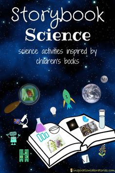 Storybook Science Series 2019 Storybook Science Series featuring science activities inspired by children's books. This year's topics include STEM Challenges, Environmental Science, Citizen Science, and Space Science. Toddler Science Experiments, Science Projects For Kids, Science Activities For Kids, Stem Science, Science Books, Stem Activities, Life Science, Computer Science, Science Space