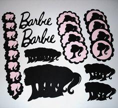 Barbie Birthday Party Kit for 16 DIY