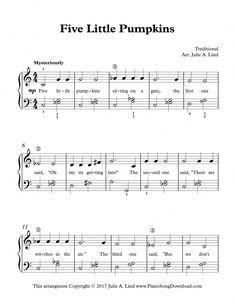Learn Piano Fun Five Little Pumpkins is a fun Halloween piano solo for early intermediate piano lessons. Free Sheet Music, Piano Sheet Music, Music Sheets, Piano Lessons, Music Lessons, Five Little Pumpkins, Piano Classes, Halloween Songs, Halloween Queen