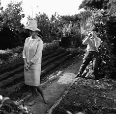 Brigitte Bardot in Rome to film Vie Privee, 1961.
