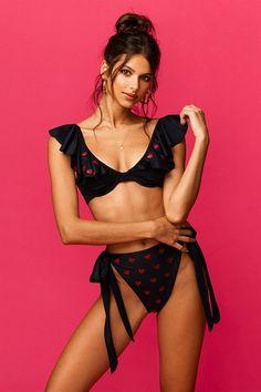 Model wears size S. Beach Riot, Beach Tops, Swimsuits, Bikinis, New Shop, Bikini Bodies, Cute Casual Outfits, Top Sales, Sexy Bikini
