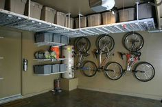 ceiling garage storage ideas