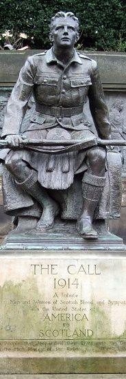 Scottish American war memorial, Edinburgh (Sculptor uncredited)