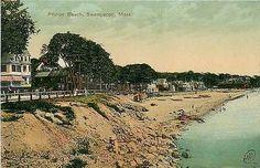 Swampscott Massachusetts MA 1908 Philips Beach Homes Antique Vintage Postcard