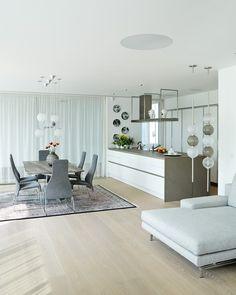 Interior ideas by pragueKabinet - the modern art salon located in Prague. Home And Living, Wall Art Decor, Kitchen Island, Divider, Room, Inspiration, Furniture, Trendy, Design