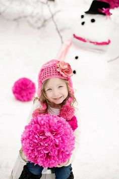 146d78e1abe Jamie Rae Hats Candy Pink Winter Wimple Hat w Candy Pink Small Rose