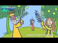 A great video for children to watch about Sukkot!