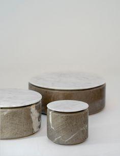 GUMDESIGN...Materiali / Bianco Carrara+Centola Grigio