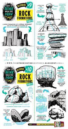 Tutorial #9-10: Rock Formations.