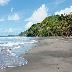 Rosalie Bay, Dominica. beach, beach destinations, ocean, shore
