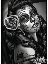 """Résultat de recherche d'images pour """"santa muerte dessin"""""""