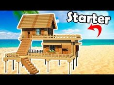 """http://minecraftstream.com/minecraft-tutorials/minecraft-how-to-build-a-small-starter-house-easy-tutorial/ - Minecraft: How to Build a Small Starter House - Easy Tutorial ➜Minecraft: How to Make a small starter House – Tutorial ➜Thumbs up^^ & Subscribe for more =) ►http://goo.gl/q4AtTD ➜Download houses from my website: http://billionblocks.com ➜Download My Texture pack: http://billionblocks.com Called """"FlowsHD"""" ➜Download.."""