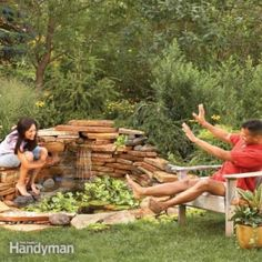 Build your own pond and waterfall, then stock it with plants and fish. Learn the basic techniques for creating a relaxing water feature in your own backyard Backyard Water Feature, Ponds Backyard, Backyard Landscaping, Backyard Waterfalls, Garden Ponds, Koi Ponds, Landscaping Ideas, Backyard Projects, Outdoor Projects