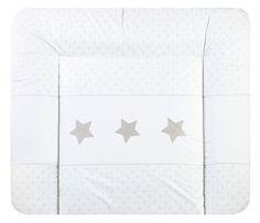 Julius Zöllner Soft Folien-Wickelauflage 'Sternstunde' weiß/taupe 85x75cm - im Fantasyroom Shop online bestellen oder im Ladengeschäft in Lörrach kaufen. Besuchen Sie uns!