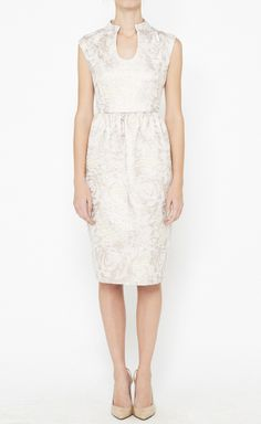 Suno Cream Dress.  Perfect style for a little ceremony or reception