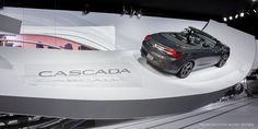 """The 2016 Cascada convertible, taking """"open air"""" to a new level on the Buick NAIAS stand."""