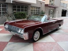 1962 Lincoln Continental Convertible For Sale Front