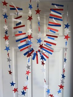 July coming up! Plus a Super hero party Patriotic Party, 4th Of July Party, Fourth Of July, Superhero Birthday Party, Birthday Parties, 30th Birthday, Bunting Garland, Garlands, Suspended Animation