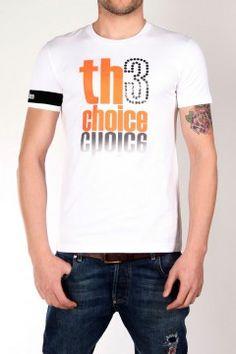 Logo Basic Fluor  Tallas: S, M, L, XL, XXL   Color: Blanco/naranja   Precio: 59€