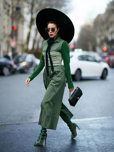 Paris Fashion Week March 2018's Best Street Style | Who What Wear UK #womensfashiontrends