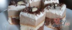Recept Luxusní zákusek DALMATIN Eastern European Recipes, Ober Und Unterhitze, Kakao, Graham Crackers, Tiramisu, Sandwiches, Cheesecake, Food And Drink, Sweets