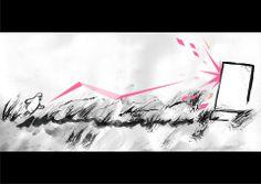 #sumie #[christian.yamao] #Bo #field #japan #dream #art #ink