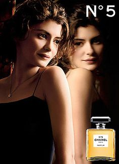 Loved these Chanel Perfume Ads with Audrey Tatou