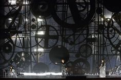 Il Trovatore // Giuseppe Verdi // Conductor Paolo Carignani / Production Olivier Py / Set and Costumes Pierre-André Weitz / Lighting Bertrand Killy / Chorus Sören Eckhoff --The Chorus of Bayerische Staatsoper, 2013 Set Design Theatre, Prop Design, Stage Design, Weird Dreams, Stage Set, Scenic Design, Wizard Of Oz, Lighting Design, Theater