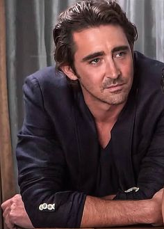 Lee Pace. Yay, close ups of The Hobbit cast interview SDCC 2014. 3 of 3.