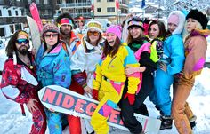 Holidy Party - 80s apres ski outfits