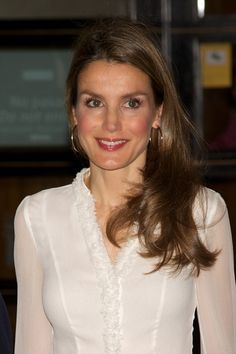 Princess Letizia of Spain attend a concert at the Royal Theater on 11 June 2013 in Madrid Spain.