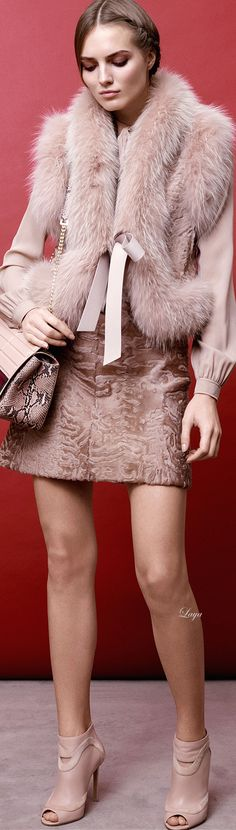 #street #fashion Elie Saab when in doubt, wear pink @wachabuy