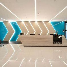 Super line lighting interior spaces 15 Ideas Clinic Design, Healthcare Design, Corporate Interiors, Office Interiors, Linear Lighting, Lighting Design, Commercial Design, Commercial Interiors, Ceiling Design