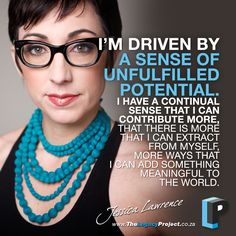Love this quote from Jessica Lawrence!