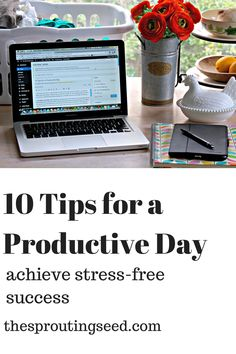 10 Tips for a Productive Day - The Sprouting Seed