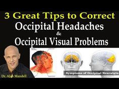 Headaches Behind the Skull and Eyes (Great Self-Help Techniques) - Dr Mandell - YouTube