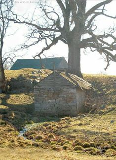 An old spring house in Washington County VA