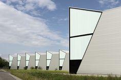 Imagen 1 de 31 de la galería de Fábrica HAWE Kaufbeuren / Barkow Leibinger. Fotografía de David Franck