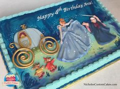 Cinderella Cake - Cake by NicholesCustomCakes