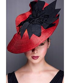 Classy Fashion Hats for Accentuating Your Figure fashion hats fashion hat monticello, a design by melbourne milliner louise macdonald wnqzvse Fascinator Hats, Fascinators, Headpieces, Fancy Hats, Cool Hats, Race Wear, Red Hat Society, Melbourne Fashion, Western Hats